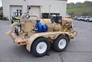 Portable Pump lined 4″ x 3″